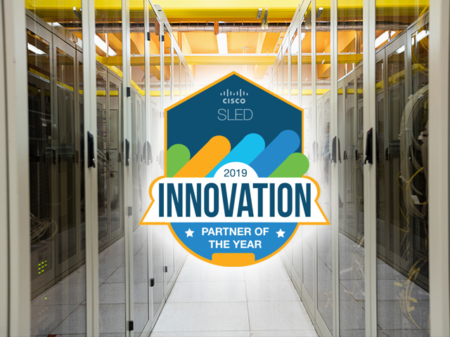 Cisco 2019 SLED Solution Innovation Partner of the Year