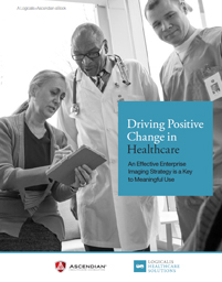 Download: Driving Positive Change in Healthcare - An Effective Enterprise Imaging Strategy is a Key to Meaningful Use