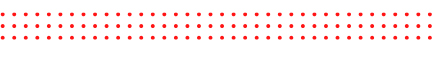 three lines of red dots