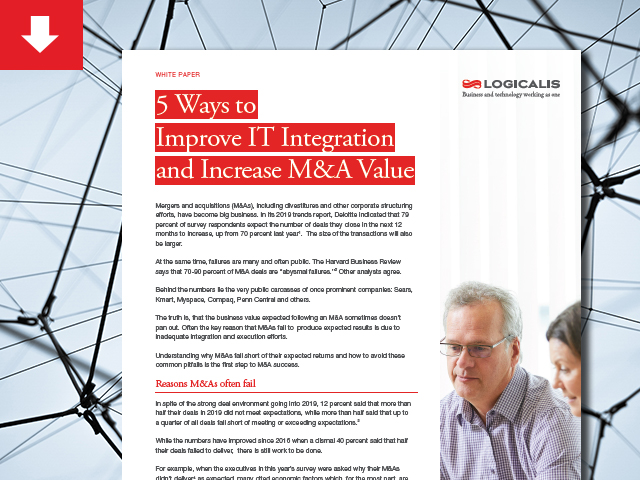 5 Ways to Improve IT Integration and Increase M&A Value