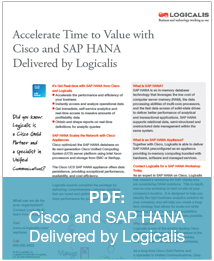 Cisco and SAP HANA