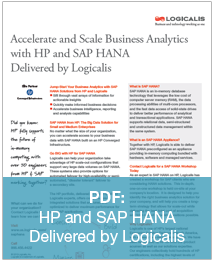 HP and SAP HANA