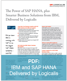 IBM and SAP HANA