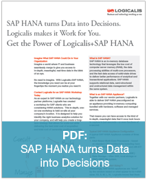 Logicalis SAP HANA Overview Datasheet