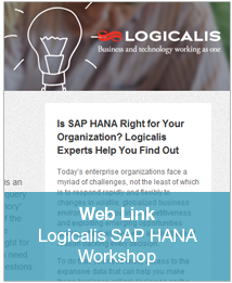 Logicalis SAP HANA Workshop