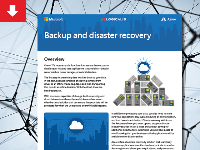 BCDR with Microsoft Azure